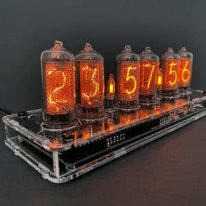 6 x IN-2 IN2 Russian nixie tubes for clock NEW NOS