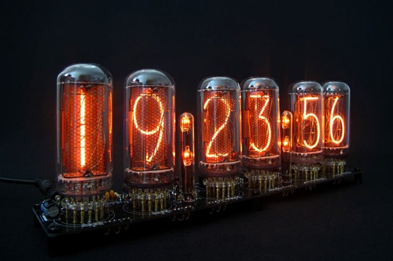 In-18 Nixie Tube Clock KIT DIY.