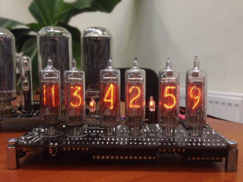 In-16 Nixie Tube Clock KIT DIY.